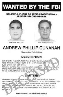 Andrew cunanan photos murderpedia the encyclopedia of murderers