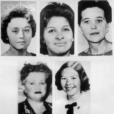 Portraits of Eight Boston Strangler Victims