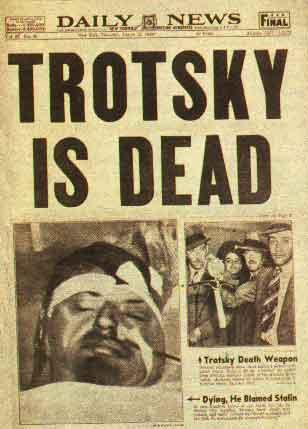 Leon Trotsky  Dead